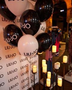 Выступление на Дне рождения магазина Liu·Jo