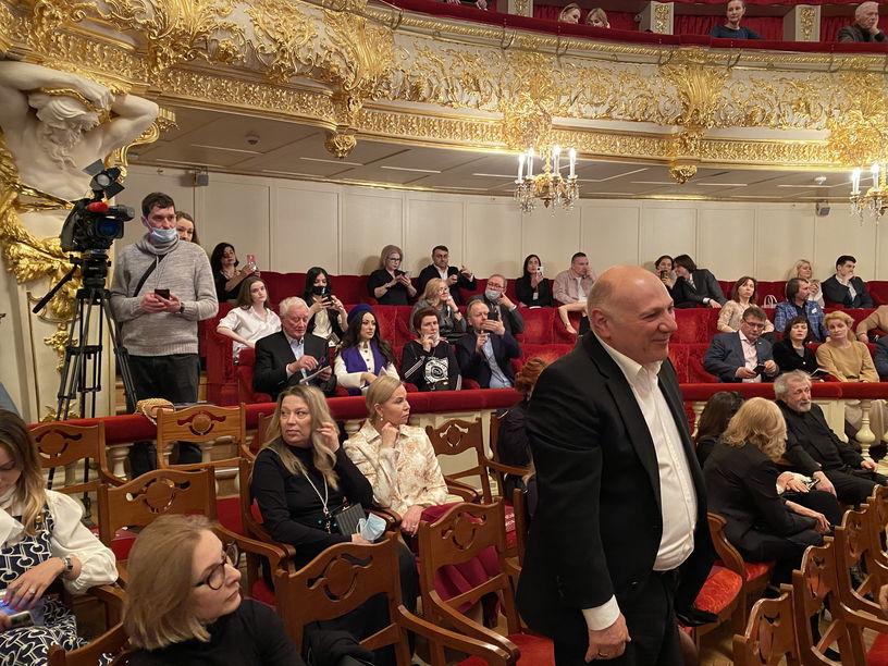 На Юбилейном вечере Никиты Михалкова