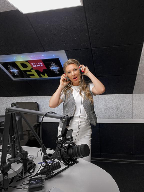 """Наталия Иванова в """"PARTY TIME"""" на радио DFM"""